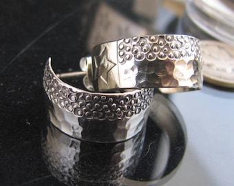 Little Liberty Sterling Cuff Earrings - Post Back