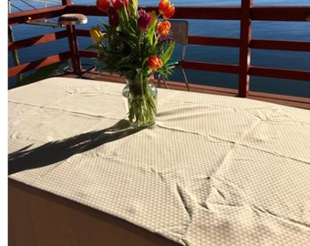 Tablecloth #68: Champagne Colored Tablecloth, Tablecloths, Table Cloths, Table  Cloth,