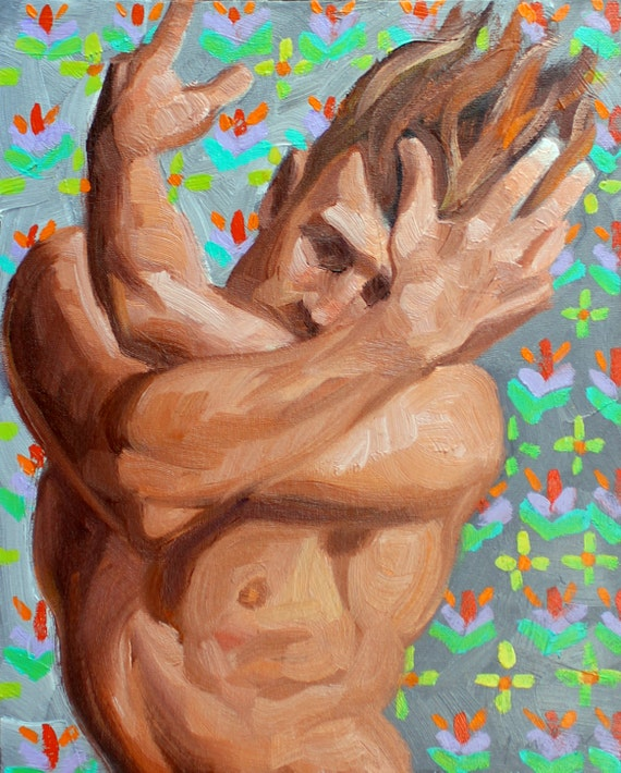 Dervish Twink, oil on canvas panel 11x14 inches by Kenney Mencher