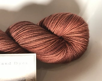 Squirrel Nutkin, Inspired by Beatrix Potter... Canon Hand Dyes Yarn