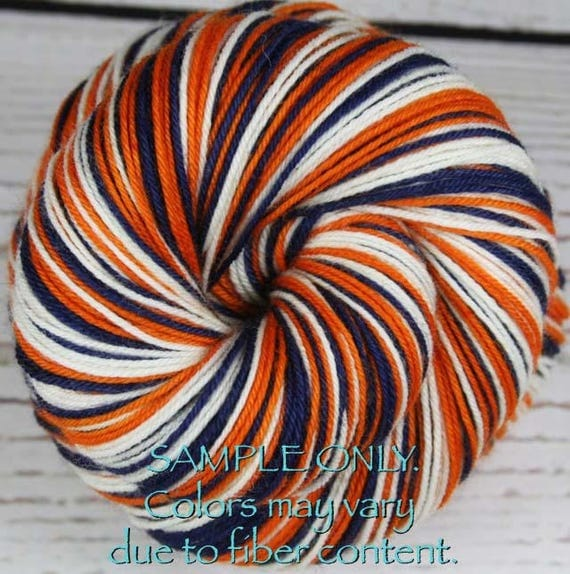 Dyed To Order: Self-striping Hand-dyed Sock Yarn