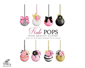 Cake pop clipart | Etsy