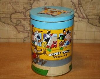Vintage Looney Tune Tin - Brach's Candy - item #2404