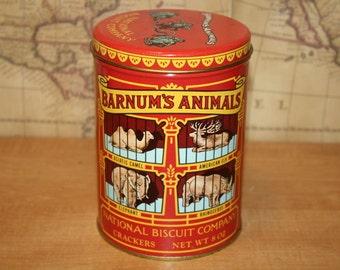 1979 Barnum's Animals Tin - item #2412