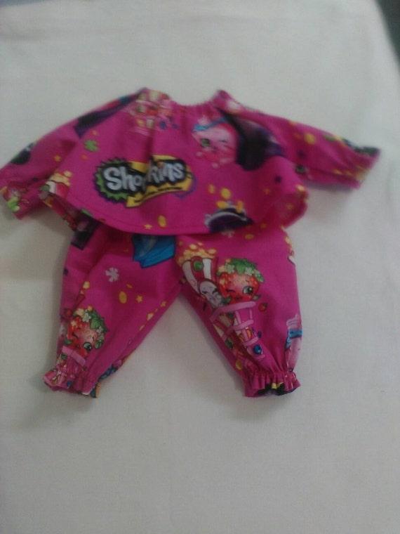 Baby Alive And Waldorf Doll Clothes Shopkins Pajamas 10