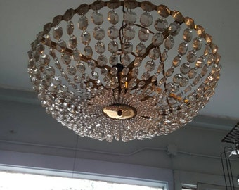 Beautiful Hollywood Regency Chandelier
