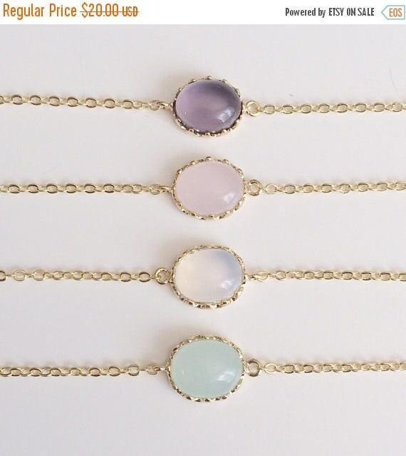 SALE 60% OFF Opal Bracelets | White Opal Bracelet | Birthstone Bracelet | October Birthstone | Gold Personalized Bracelet | Gift For Her