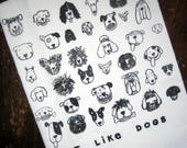 I LIKE DOGS Kitchen Towel