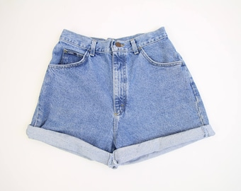 VINTAGE Lee Denim Shorts 1990s Jean Shorts