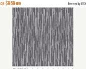 Christmas Sale Desert Bloom Fabric Stripe in Gray by Amanda Herring - 1 Yard