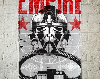 Star Wars Art - Stormtrooper - Star Wars Patent, Art Print, Tie Fighter, Fan Art, pop art, Illustration, Star Wars Poster, Star Wars Gift
