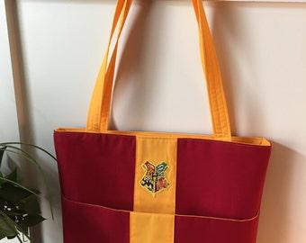 Harry Potter Hogwarts Gryffindor Tote Handbag