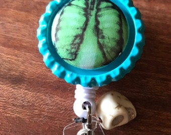 X-Ray Magnet Badge Holder Retractable Badge Holder