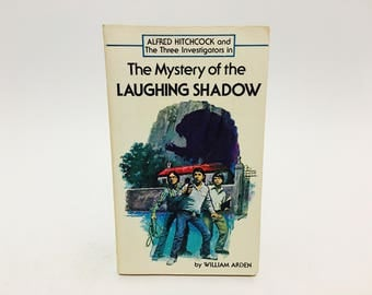 Vintage Children's Book Alfred Hitchcock: The Mystery of the Laughing Shadow 1969 Paperback