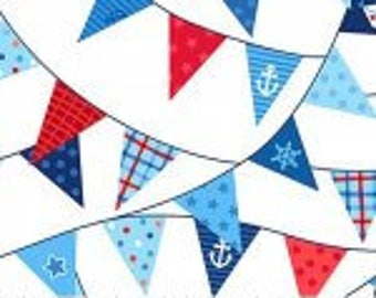 First Mate Pennants on White