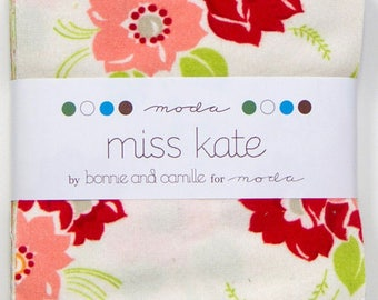 Charm Pack of FLANNEL Miss Kate by Bonnie and Camille for Moda