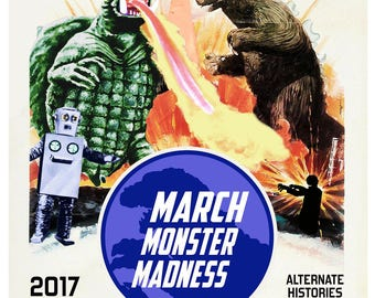 March Monster Madness Poster