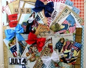 Stars and Stripes Patriotic Creativity Kit 2017  Polly's Paper Studio