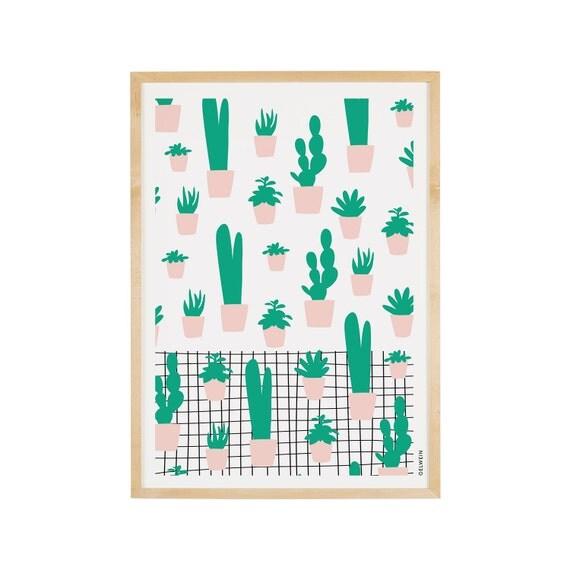 SUCCULENTS / A3 Print