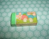 Ultra Rare 1976 Sanrio Little Twin Stars Sealed eraser rubber gomme gommine