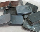 Reserved for marystella Altoid Tins With Patina