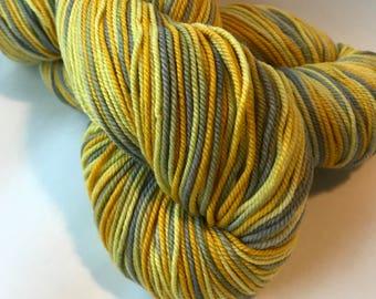 POSH Merino, cashmere, nylon Sport yarn, Dandelion