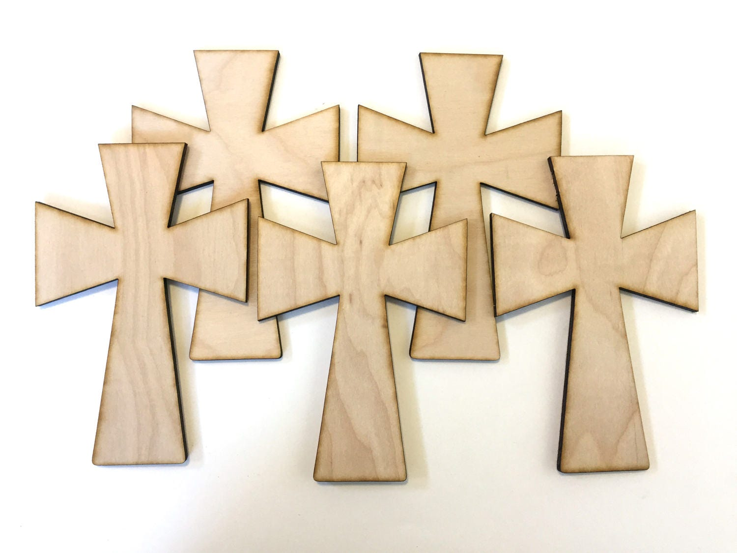 Unfinished wooden crosses for crafts - Sold By Lightninglasercuts
