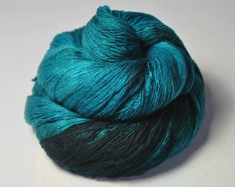 Diving into the Caribbean sea - Merino/Cashmere Fine Lace Yarn