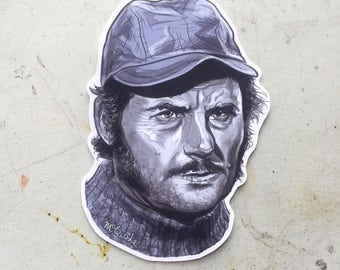Quint JAWS Waterproof Sticker!