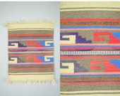 FEBRUARY SALE Southwestern Textile / Wall Hanging