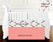 Custom crib bedding for Krystal