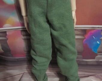 Lime Green 70cm BJD Baggy Sweat Pants