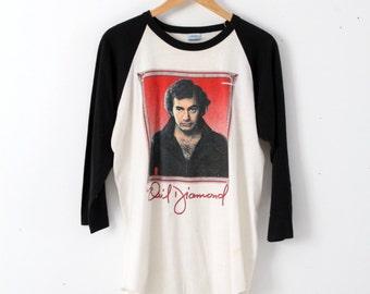 vintage Neil Diamond t-shirt, 1980s tour tee