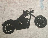 Motorcycle Cupcake Toppers