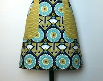 Egypt inspired cotton skirt SALE *Ready to ship*
