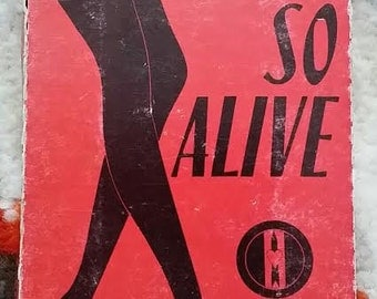 Love And Rockets So Alive/Dreamtime 1989 Cassette Single Bauhaus Beggar's Banquet