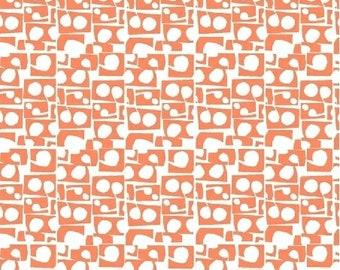 Lilla Prata Coral 42412-8 by Lotta Jansdotter for Windham Fabrics