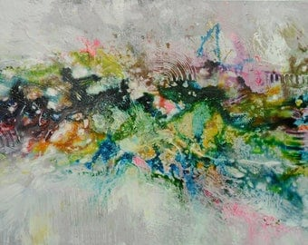 """36"""" Painting , abstract painting, Acrylic painting, Wall Decor, wall hangings from Skye Taylor"""