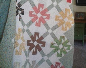 72 x 90 Hand-made quilt