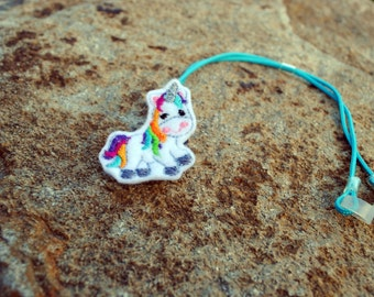 Rainbow the Unicorn - Hearing Aid Cord or Cochlear Implant Cord