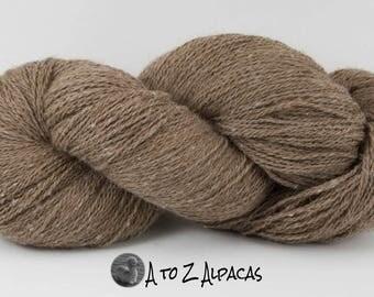 Royal Baby Natural Alpaca Yarn Sock Weight Latte
