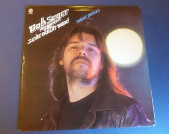 Bob Seger & The Silver Bullet Band Night Moves Vinyl Record LP ST-11557 Capital Records 1976