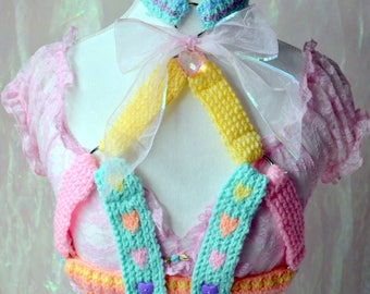 Rainbow Love Harness