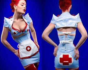 PVC Nurse Apron (made to order)