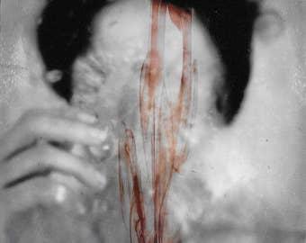 Abstract Photo Print Original Sold By Artist Art Online Macabre Dark