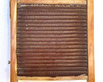 Vintage circuitbent electric frikkin washboard for your techno jug band