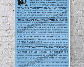 11x17 STEP BROTHERS Quote Poster