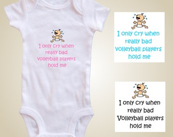 Volleyball baby one piece - Bad Volleyball
