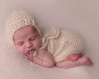 Alpaca Newborn Wrap- Photography Prop- YOU choose the color!