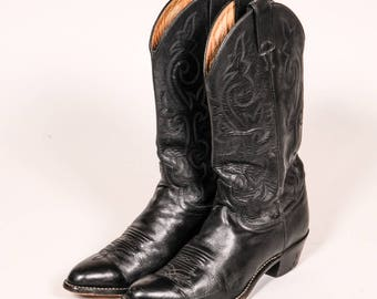 JUSTIN Cowboy Boots Men's Size 9 C